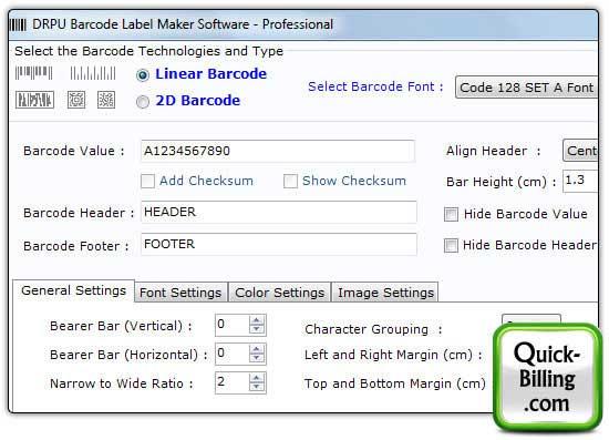 Barcode Strichcode