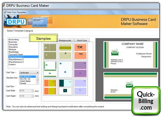 Business card maker software screenshots for how to create visiting business card maker software reheart Gallery