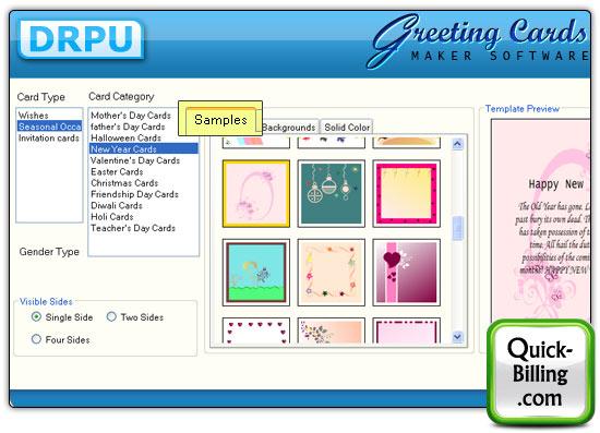 Greeting card maker software designs birthday card anniversary card greeting card maker software screenshots m4hsunfo